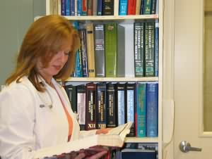 Dr. Profeta consults our resource library